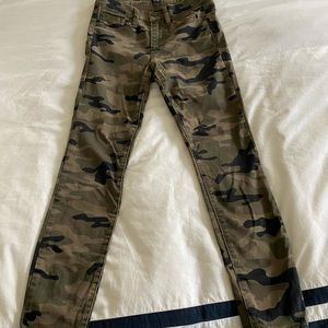 GAP camouflage skinny cotton jeans with stretch!